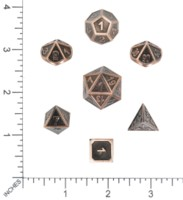 Dice : MINT55 DIE HARD GOTHICA BATTLEWORN COPPER