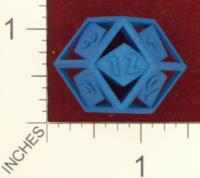 Dice : MINT24 SHAPEWAYS CLSN OPEN RHOMBIC D12 01