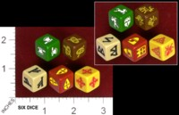 Dice : MINT32 GRIPPING BEAST SAGA DICE 01