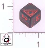 Dice : NUMBERED OPAQUE ROUNDED SOLID Q WORKSHOP CUSTOM FOR VALKIRIA DOT NET 01