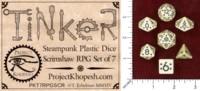 Dice : MINT48 PROJECT KHOPESH TINKER DICE II SCRIMSHAW