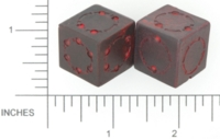Dice : D6 OPAQUE SHARP SOLID BRIANS BAZAR UNNAMED 01