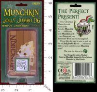 Dice : MINT29 STEVE JACKSON GAMES MUNCHKIN JOLLY JUMBO D6 01