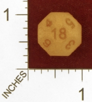 Dice : MINT27 SHAPEWAYS MCTRIVIA D18 SPHERE 01