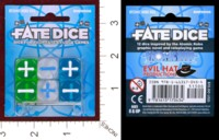 Dice : MINT36 EVIL HAT PRODUCTIONS FATE DICE ATOMIC ROBO