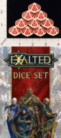 Dice : D10 OPAQUE ROUNDED SOLID WW EXALTED SECOND EDITION 01