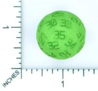 Dice : MINT53 SHAPEWAYS POSH FROSH D35 ODD BALL DIE