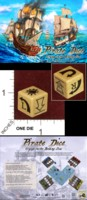Dice : MINT35 GRYPHON GAMES PIRATE DICE TREASURE DIE
