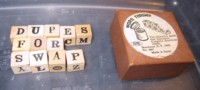 Dice : DUPS06 SHACKMAN WORD THROWING GAME
