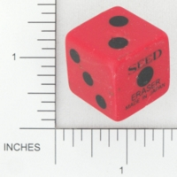 Dice : MINT14 SEED ERASER 01