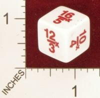 Dice : MINT22 CRISLOID FRACTIONS 01
