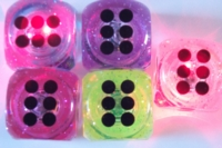 Dice : FOAM D6 LITE UP DICE