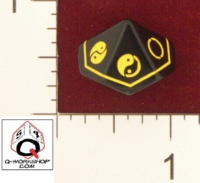 D10 OPAQUE ROUNDED SOLID Q WORKSHOP CUSTOM YIN YANG