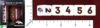 Dice : MINT45 MASTERPIECES SHAKE N SCORE DENVER BRONCOS
