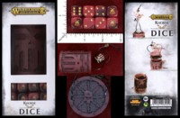 Dice : MINT46 GAMES WORKSHOP WARHAMMER AGE OF SIGMAR KHORNE