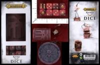 Dice : MINT46 GAMES WORKSHOP WARHAMMER AGE OF SIGMAR KHORNE