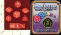 Dice : MINT23 CRYSTAL CASTE ORIGINS 2010