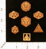 Dice : MINT28 SHAPEWAYS GYTHAWEN DEATHLY HALLOWS DICE 01