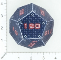 Dice : PAPER D12 OVERSOUL GAMES MECHA SHADOWTECH INDUSTRIES HEAVY MECHA HIT DICE 01