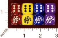 Dice : MINT30 JSPASSNTHRU MUSIC NOTES 01