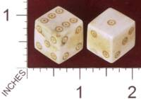 Dice : MINT32 TOMAS THE LAPIDARY RUSSIAN SIBERIAN MAMMOUTH IVORY 01