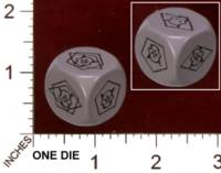 Dice : MINT29 IRON CROWN WILDS OF DOOM ENCOUNTER GENERATION DIE 01