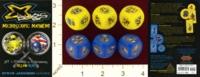 Dice : MINT22 STEVE JACKSON GAMES X BUGS SET 1 FLYBORGS VS USARTHROPODS