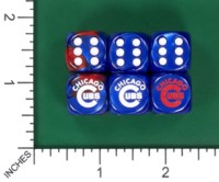 Dice : MINT55 JSPASSNTHRU CHICAGO CUBS