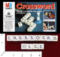Dice : MINT38 MILTON BRADLEY CROSSWORD