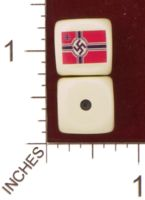 Dice : MINT29 YAK YAKS NAZI GERMAN WAR FLAG 01