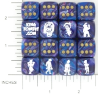 Dice : MINT15 KING ZOMBIE CHESSEX CUSTOM 04
