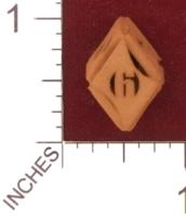 Dice : MINT28 SHAPEWAYS AEGIDIAN FLASH RHOMBIC D6 01