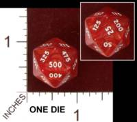 Dice : D20 OPAQUE ROUNDED IRIDESCENT UNKNOWN SPINDOWN 02