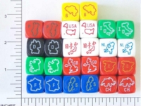 Dice : D6 81 KOPLOW COUNTRIES