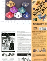 Dice : D10 OPAQUE ROUNDED IRIDESCENT STEVE JACKSON MUNCHKIN 01