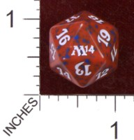 Dice : D20 OPAQUE ROUNDED SOLID WIZARDS OF THE COAST MTG M14 01