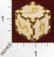 Dice : MINT28 J AND S CUSTOME LASER ENGRAVING NUMBERED 01
