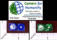 Dice : MINT32 GAMERS FOR HUMANITY 01