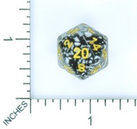 Dice : MINT56 HENGDA MANUFACTURING D20 SPECKLED