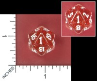 Dice : MINT52 STARWIND DESIGNS STINK 2016 UNLUCKY D20