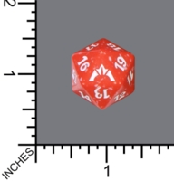 Dice : D20 MTG OPAQUE ROUNDED SPECKLED WIZARDS OF THE COAST MTG GATECRASH 01
