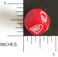 Dice : NON NUMBERED HEROQUEST 01