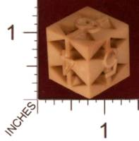 Dice : MINT29 SHAPEWAYS MADALORIAN TRIANGLE DIE 01