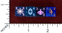 Dice : MINT47 WIZKIDS DICE MASTERS WAR OF LIGHT INDIGO TRIBE