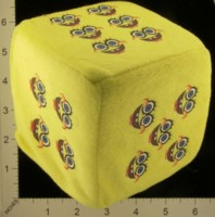 Dice : FOAM2 UNKNOWN SPONGEBOB SQUAREPANTS 01