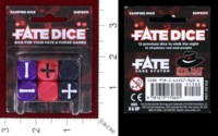 Dice : MINT38 EVIL HAT PRODUCTIONS FATE DICE VAMPIRE DICE