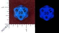 Dice : MINT47 FOAM BRAIN GAMES GLOW IN THE DARK PROTOTYPE
