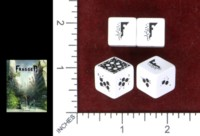 Dice : MINT49 MODIPHIUS FRAGGED EMPIRE DICE SET