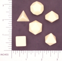 Dice : BLANK MULTI CHESSEX 01