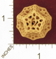 Dice : MINT27 SHAPEWAYS DIZINGOF ORGANIC DIE 12 01